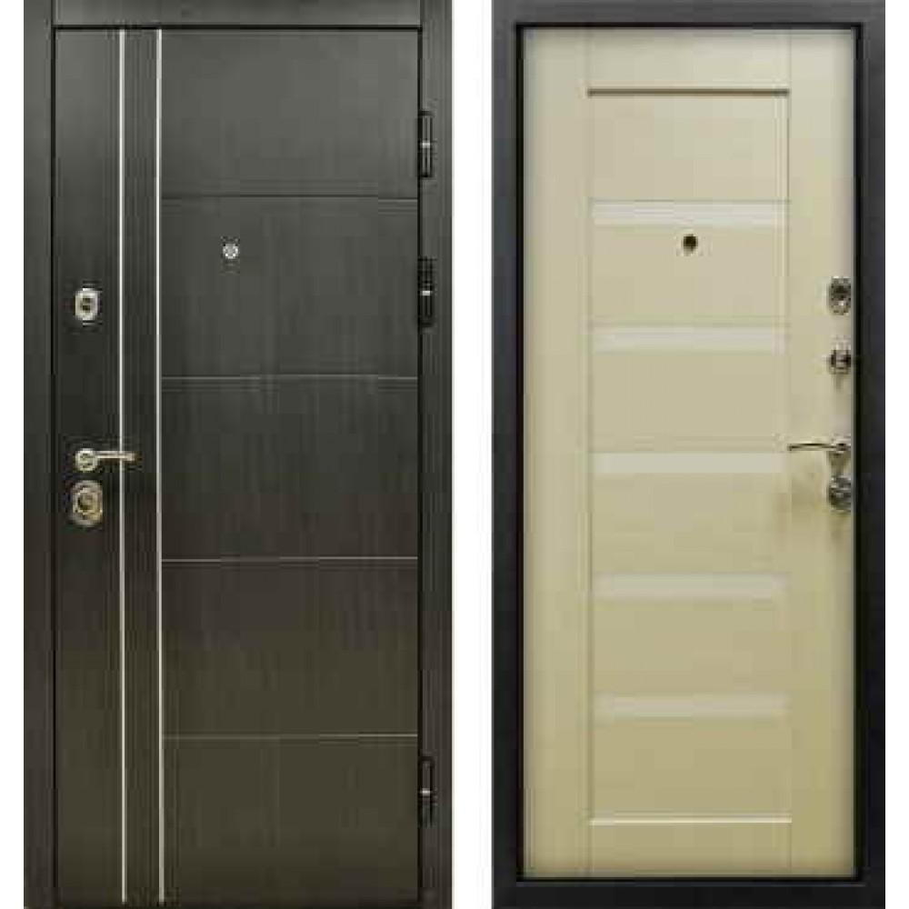 Входная дверь Йошкар-Ола Техно 3 с молдингом и пленкой Винорит
