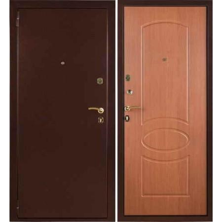 Заводские двери Триумф в цвете миланский орех