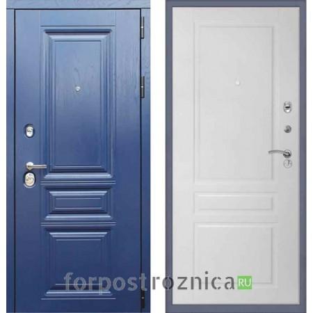 Заводские двери М600 Альберо ночи панель Стокгольм Эмаль белая (с шумоизоляцией)