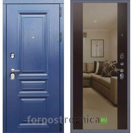 Заводские двери М600 Альберо ночи панель Венге (С зеркалом)