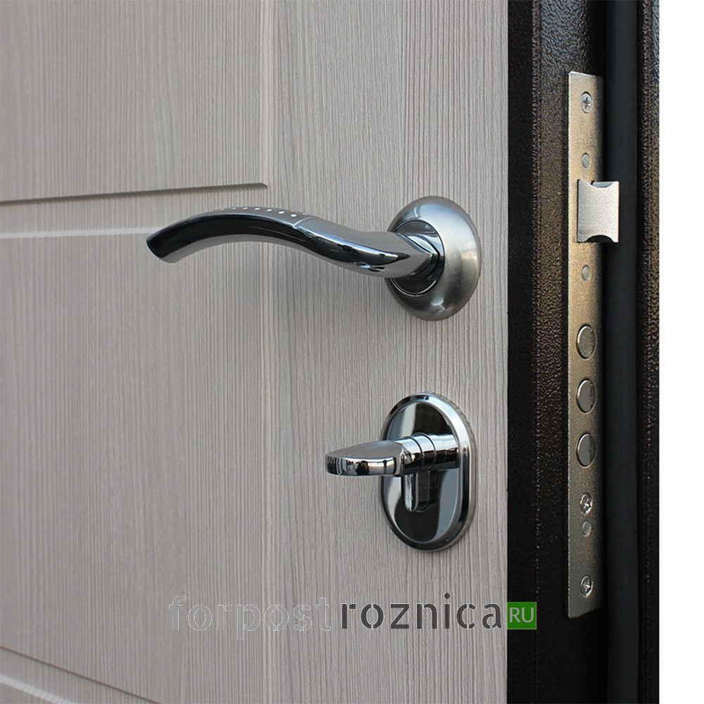 Металлическая дверь АСД Комфорт эко дуб