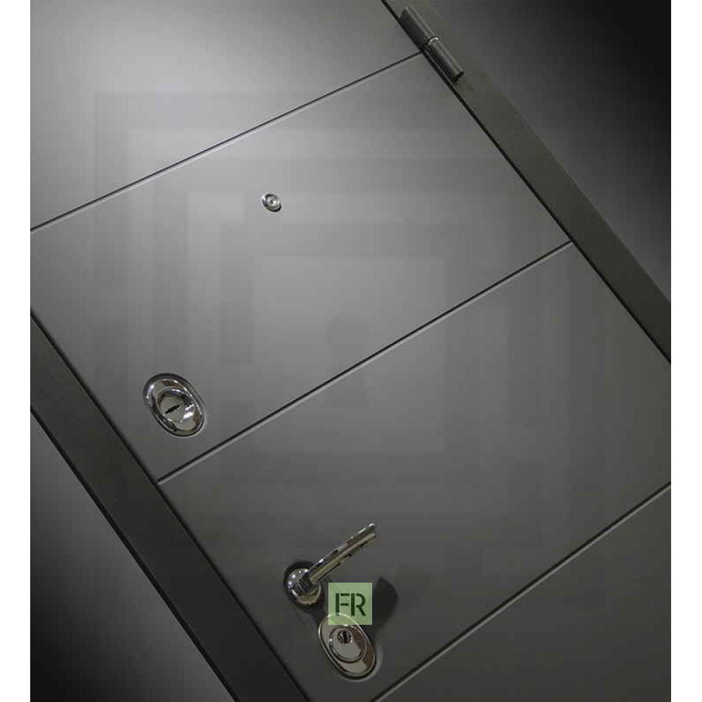 Входная дверь Лабиринт ART графит 03 - Крем софт (утепленные)