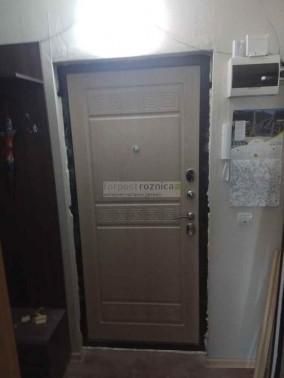 Металлическая дверь ReX Троя 3К Беленый Дуб ( Антивандальные)