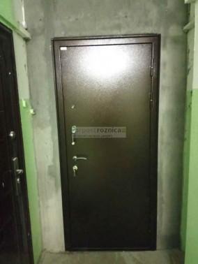 Металлическая дверь Милан Белый Ясень(антивандальные)