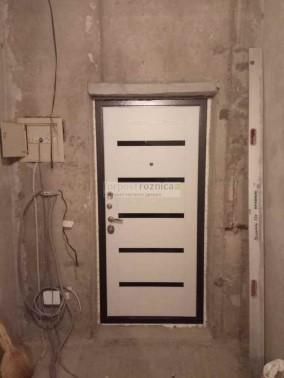 Металлическая дверь ReX 5 СБ-14 Сандал Белый (Трехконтурные)