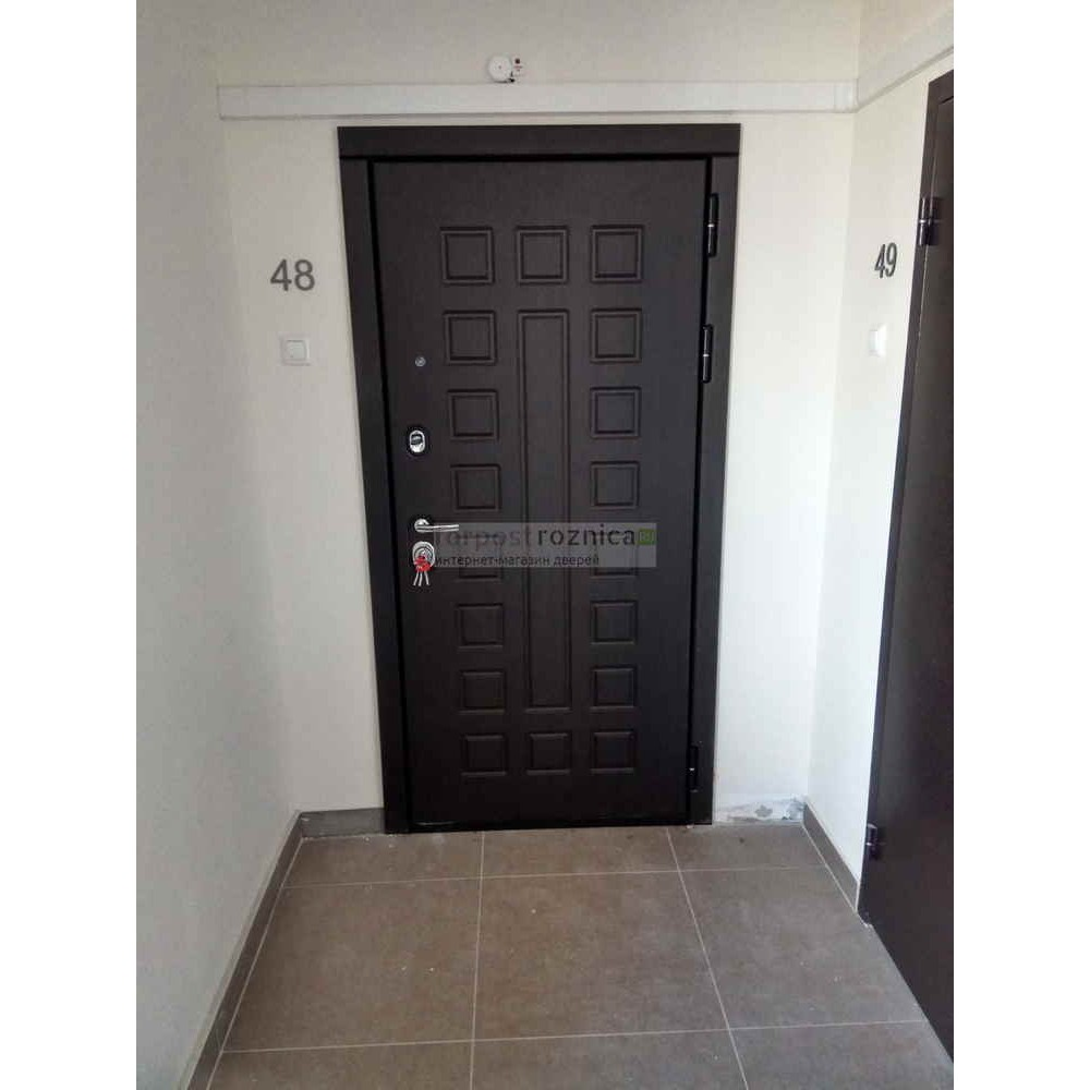 Входная дверь Сударь МД-30  зеркало (с шумоизоляцией)