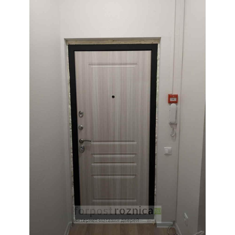 Входная дверь Рекс Премиум Н Сандал Белый (С шумоизоляцией)
