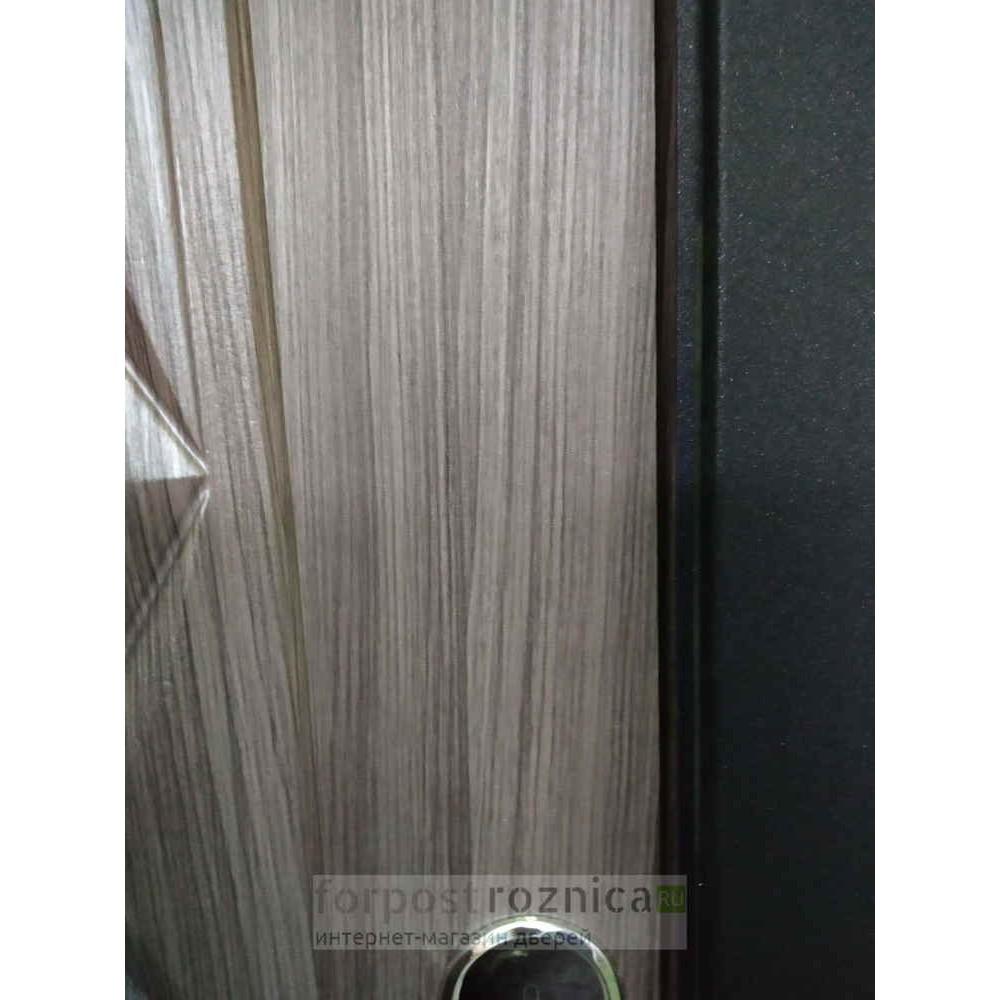 Входная дверь Цитадель Троя муар 10 см палисандр темный (Трехконтурные)