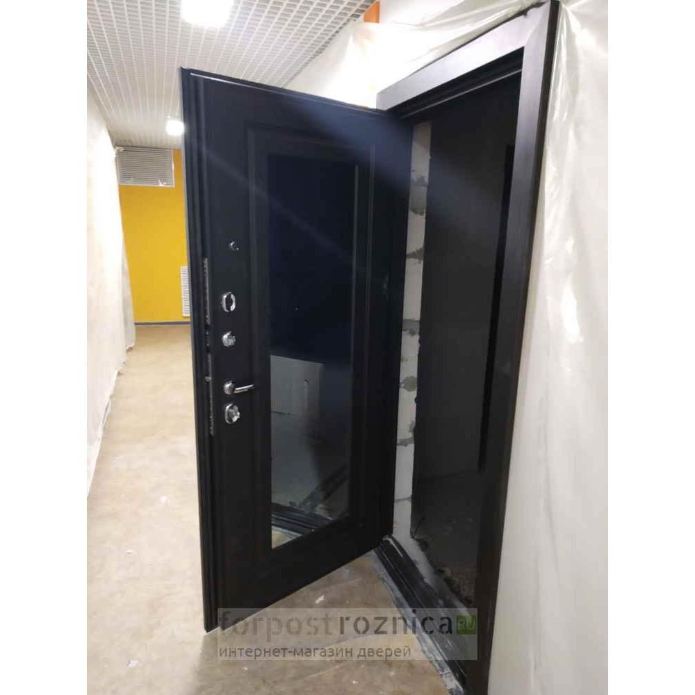 Входная дверь АСД Викинг в цвете венге (сейфовые)