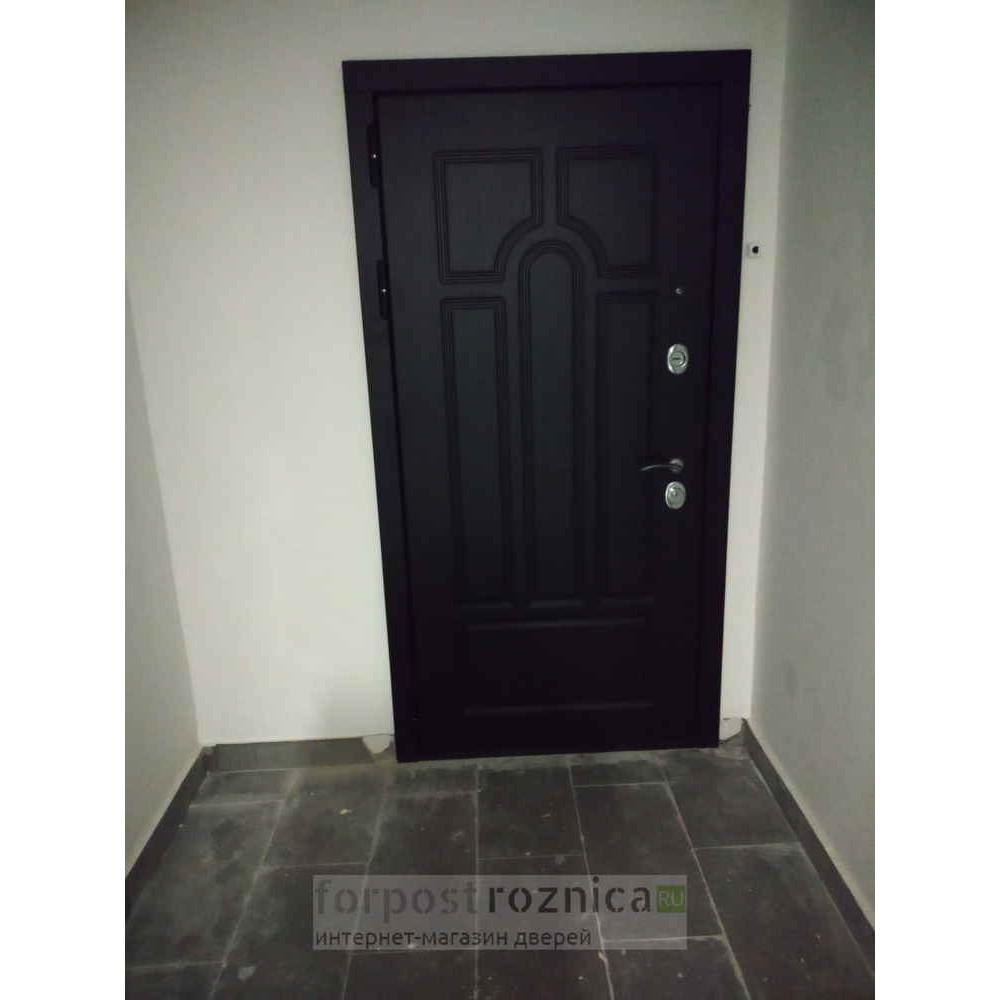 Входная дверь Рекс Эврика Зеркало Венге (С шумоизоляцией)