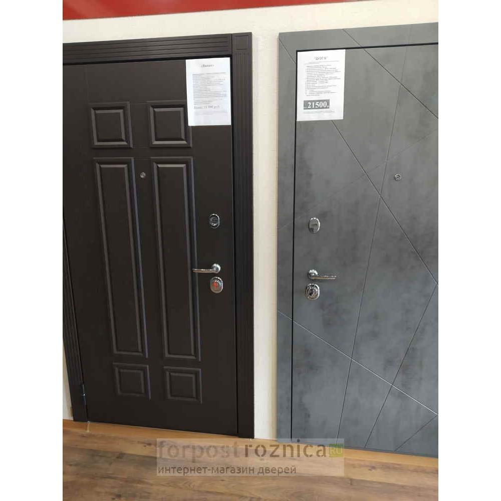 Входная дверь АСД «Дуэт Б» (Трехконтурные)