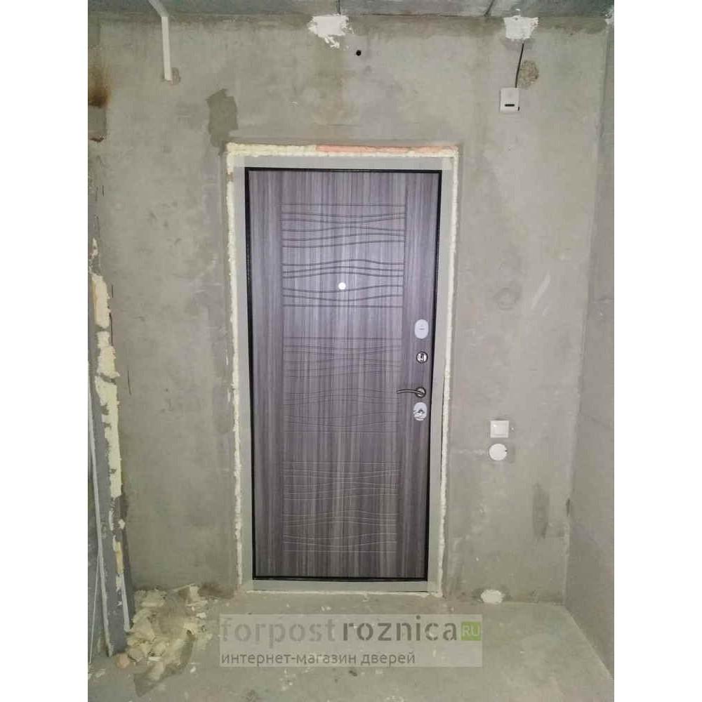 Входная дверь Лабиринт NEW YORK 06 - Сандал серый (сейфовые)