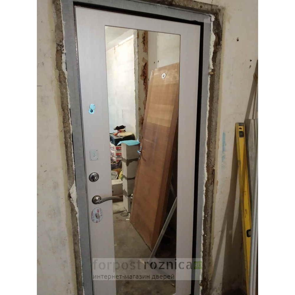 Дверь Ратибор Оптима 3К Лиственница беж (трехконтурные)