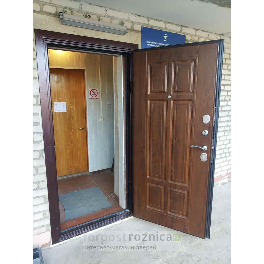 Входная дверь Йошкар-Ола Т30 Винорит (Трехконтурные)