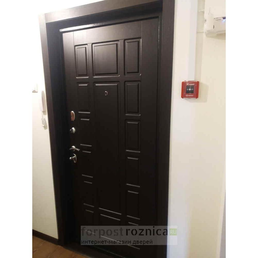 Входная дверь Лабиринт NEW YORK 04 - Венге (утепленные)