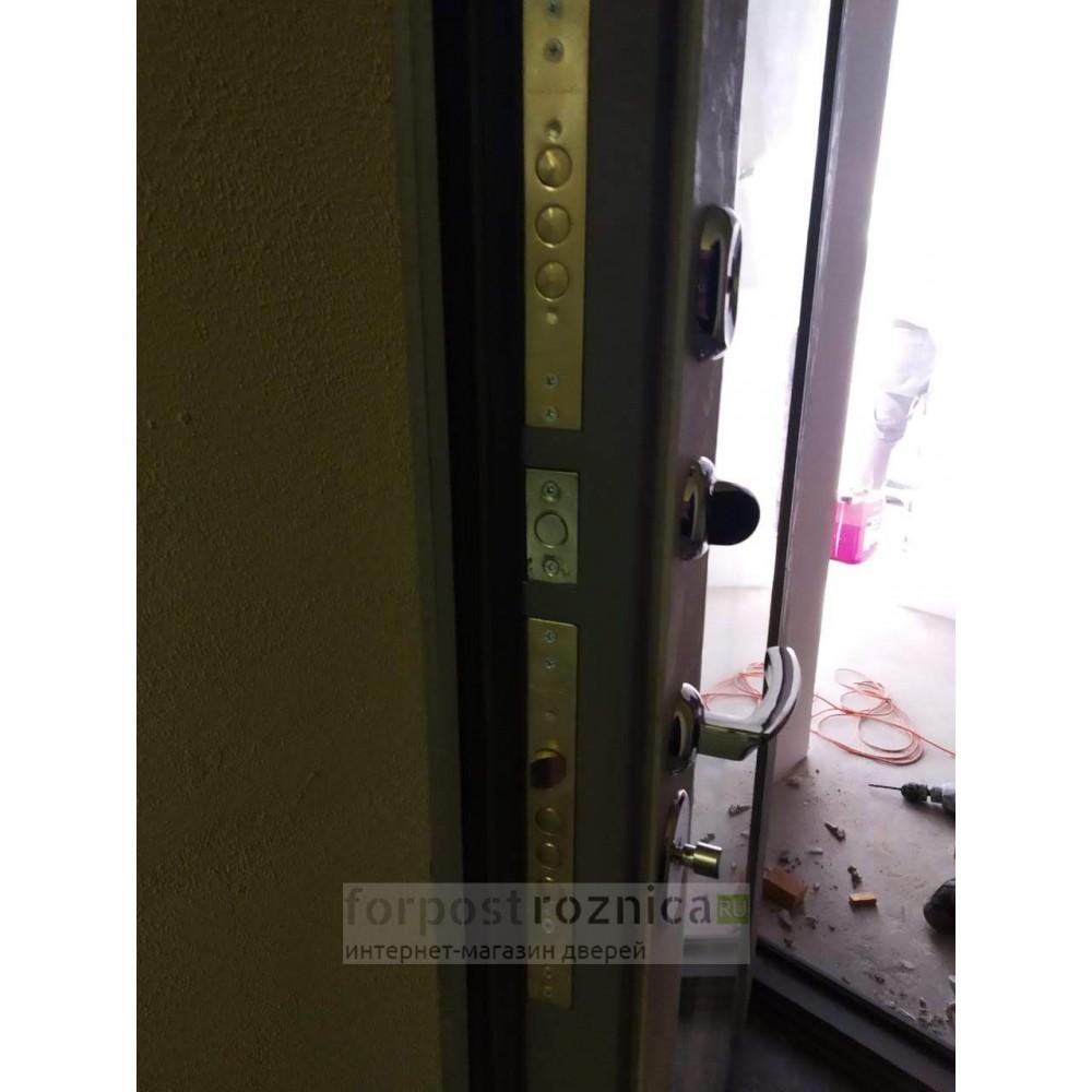 """Входная дверь АСД """"ДУЭТ Б с зеркалом"""" (с шумоизоляцией)"""