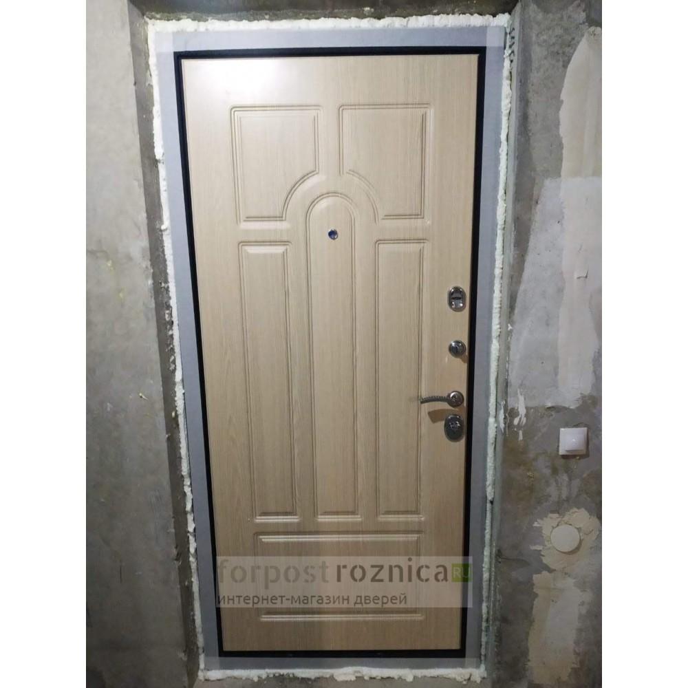 Входная дверь Рекс Верона 16 Беленый Дуб ( Трехконтурные )