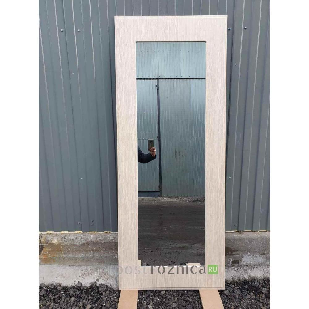 Входная дверь REX 13 Бетон пастораль лиственница беж