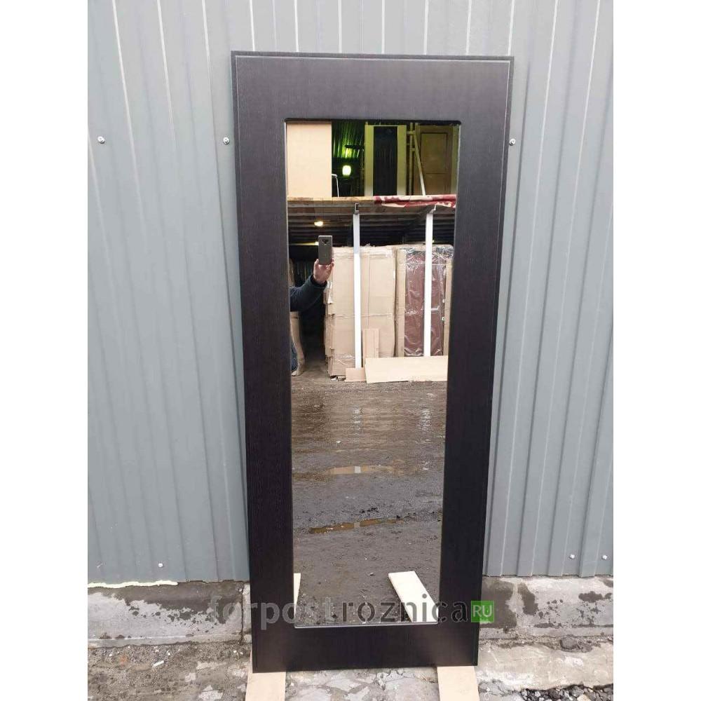 Входная дверь REX 13 Бетон пастораль венге