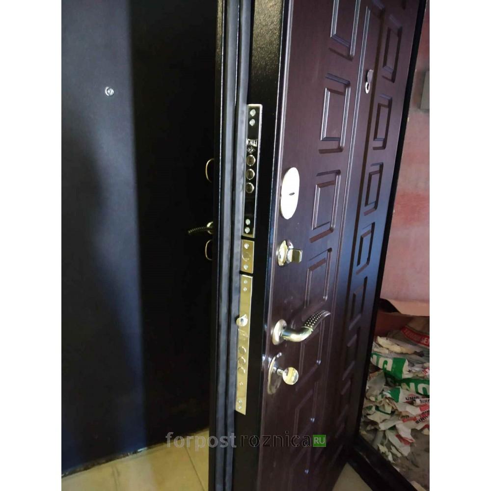 Входная дверь  Лекс Гладиатор-3К  Венге (панель №21)