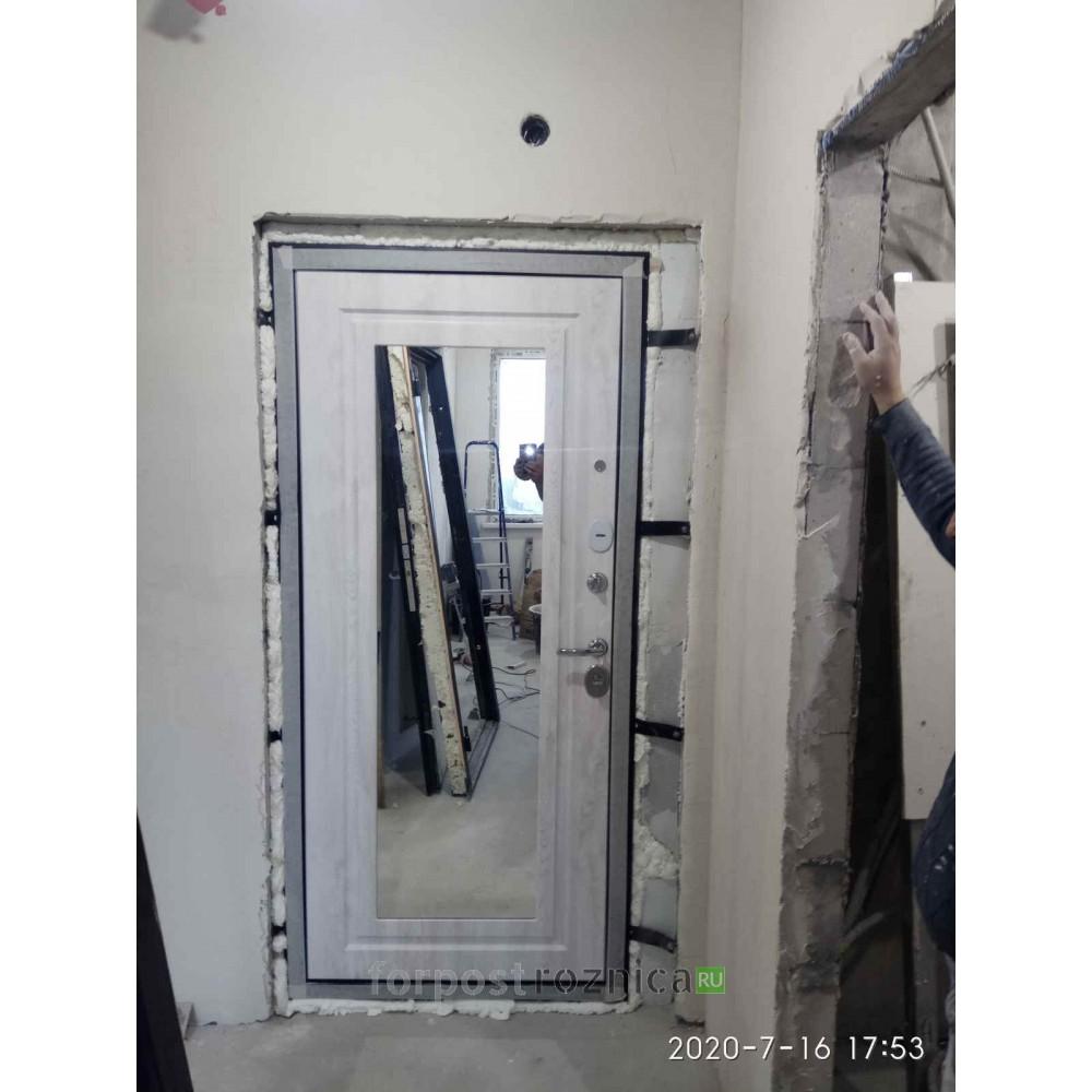 Входная дверь АСД Гермес  NEW с зеркалом ELIT (сейфовые)