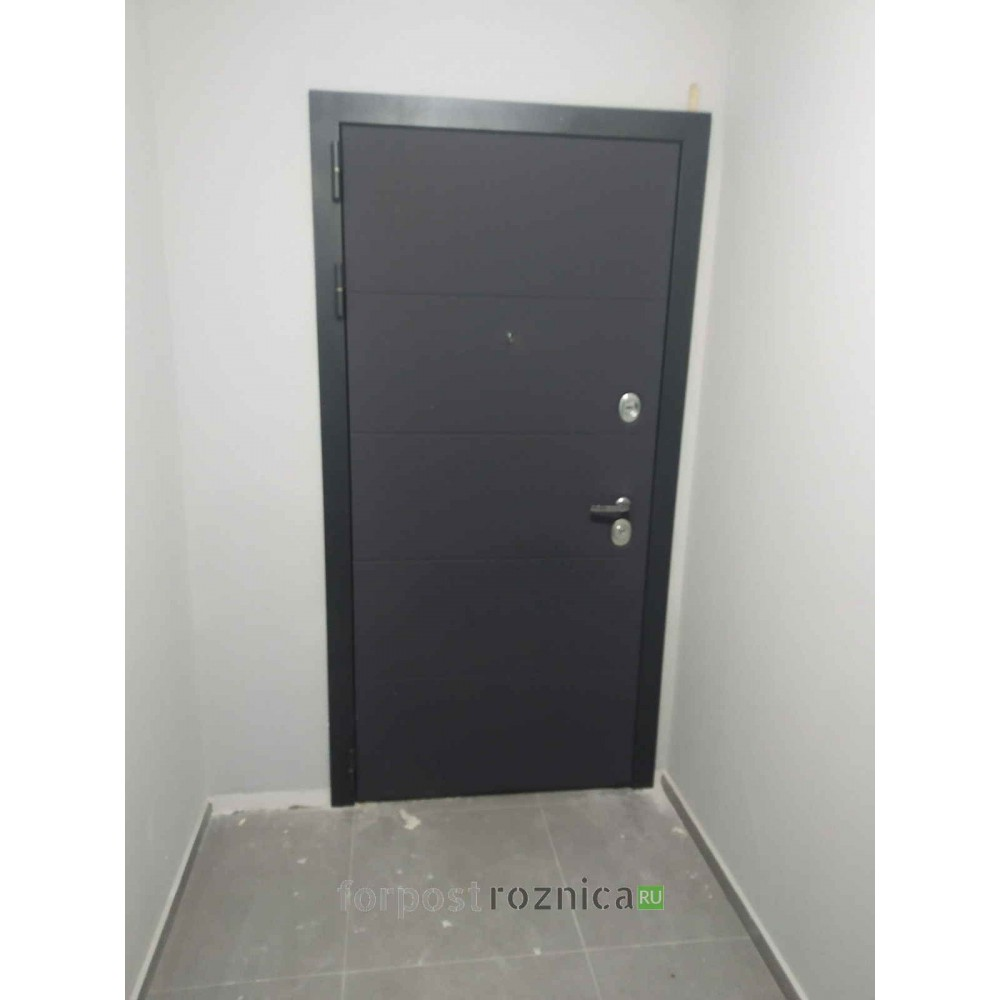 Входная дверь Лабиринт ART графит 12 - Венге (утепленные)