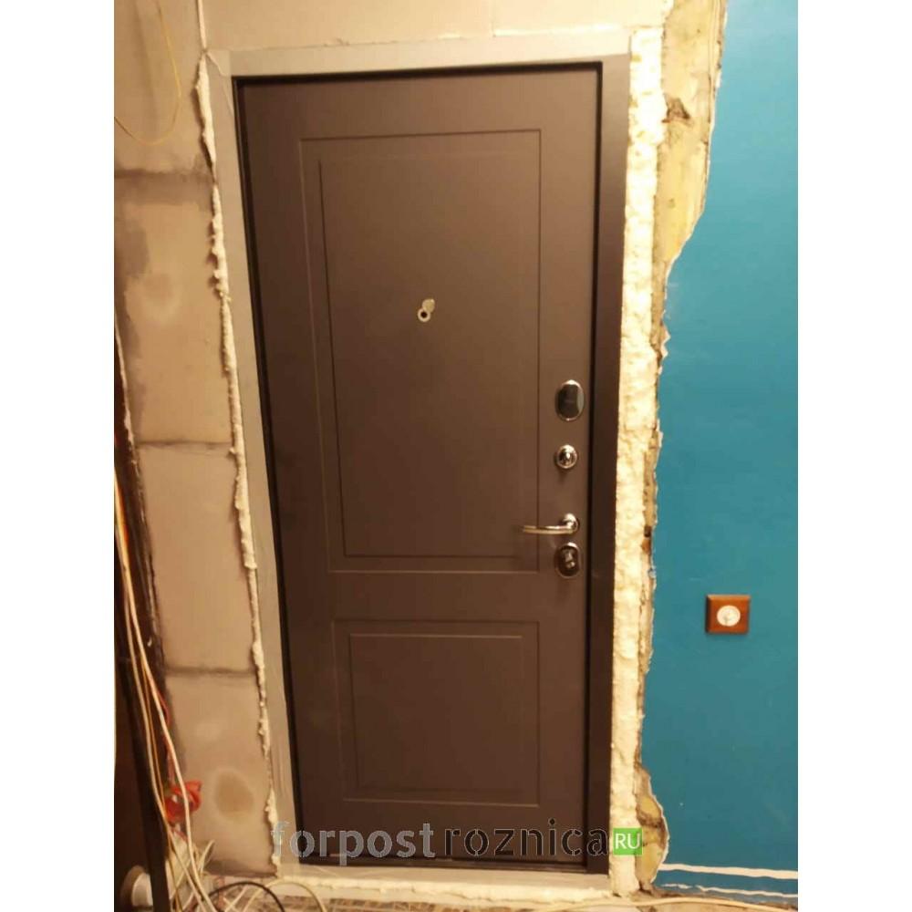 Входная дверь Лабиринт ART графит 11 - Графит софт (с шумоизоляцией)