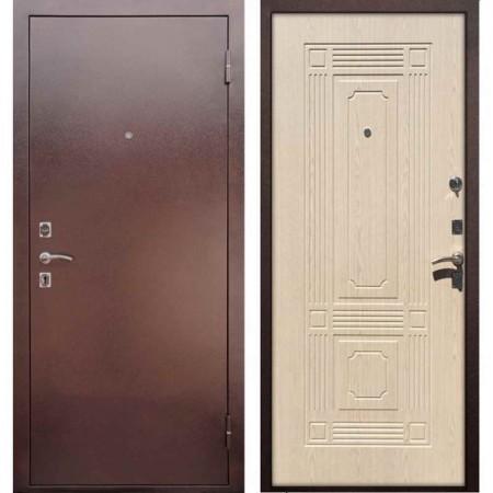 Входная дверь REX 1 ФЛ-2 Беленый дуб (Наружного открывания)